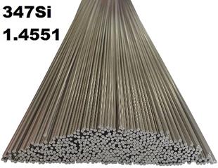Bild für Kategorie 1.4551 (347 Si) WIG-Schweissstäbe