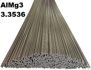 Bild für Kategorie 3.3536 (AlMg3) WIG-Schweissstäbe