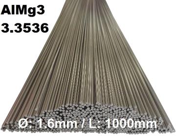 Bild von WIG-Stäbe 3.3536 (AlMg3) Ø:1.6mm