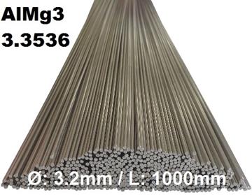 Bild von WIG-Stäbe 3.3536 (AlMg3) Ø:3.2mm