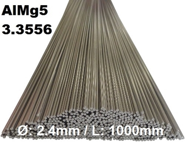 Bild von WIG-Stäbe 3.3556 (AlMg5) Ø:2.4mm