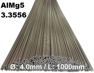 Bild von WIG-Stäbe 3.3556 (AlMg5) Ø:4.0mm