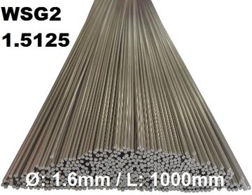 Bild von WIG-Stäbe 1.5125 (WSG2) Ø:1.6mm