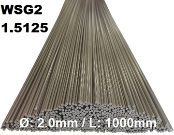 Bild von WIG-Stäbe 1.5125 (WSG2) Ø:2.0mm